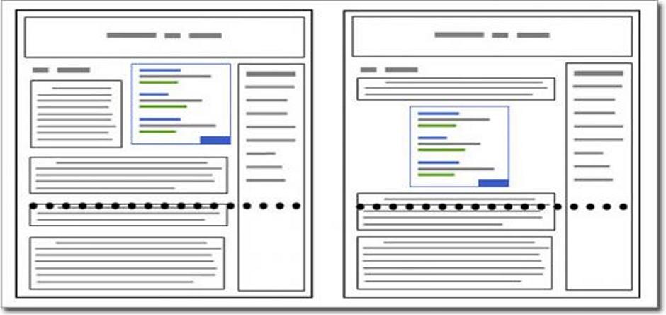Google vai penalizar sites carregados de anúncios