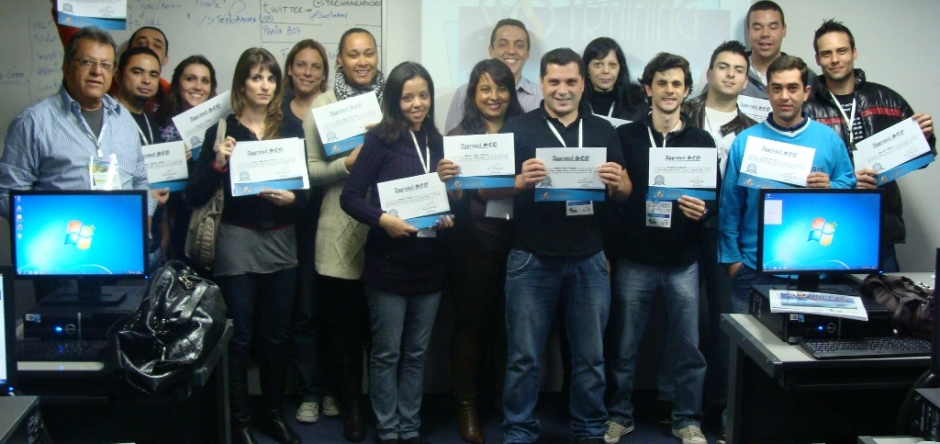 Fotos do SEO Training e Midias Sociais turma de Maio de 2011