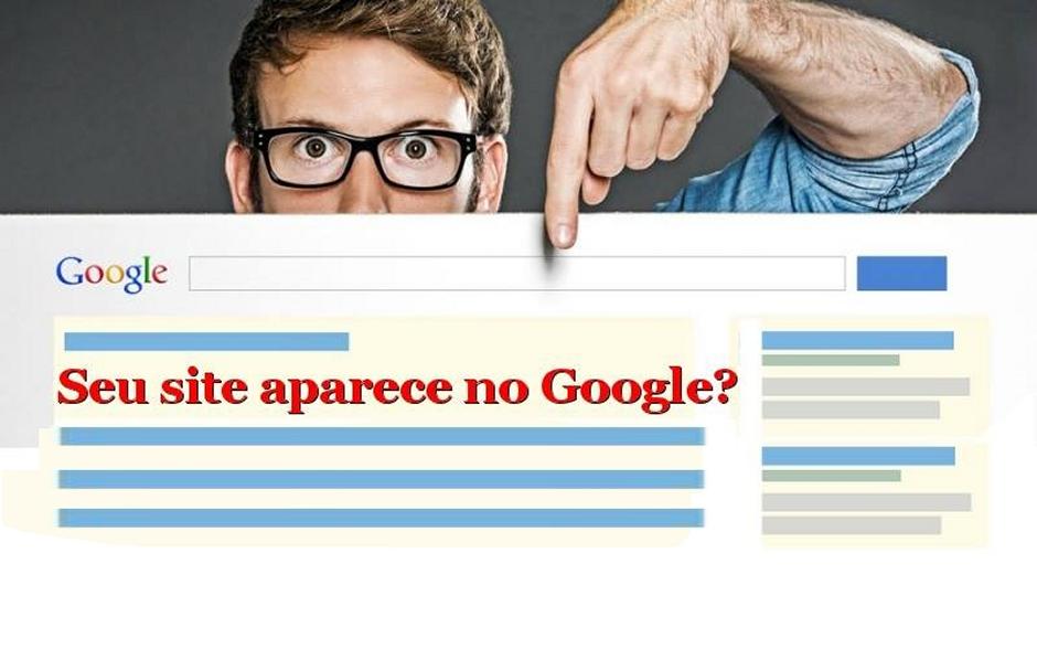 Seu site aparece no Google?